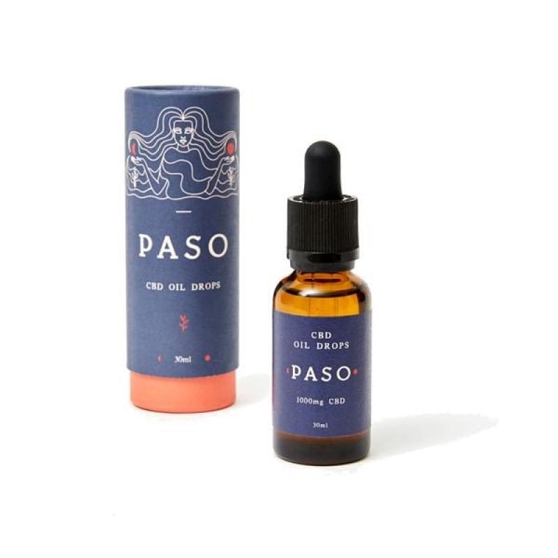 Paso 1000mg CBD Tincture Oil 30ml