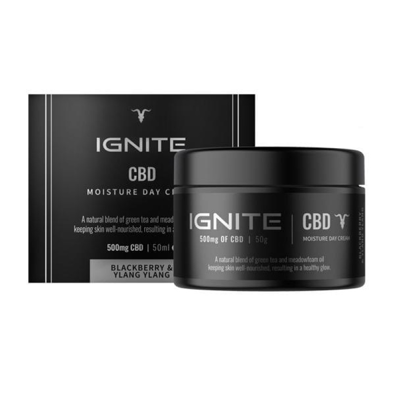 Ignite CBD 500mg CBD Moisture Day Cream 50ml