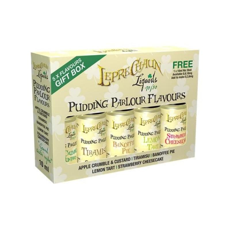 Leprechaun Pudding Parlour E-liquids Gift Box (70V...
