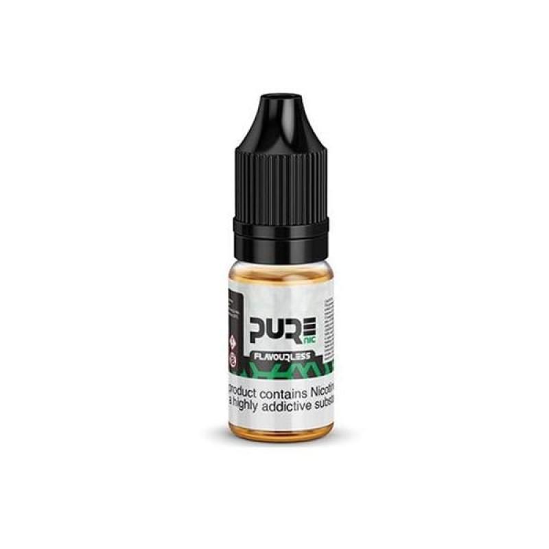 18mg Pure Nic Flavourless Nicotine Shot 10ml  100V...