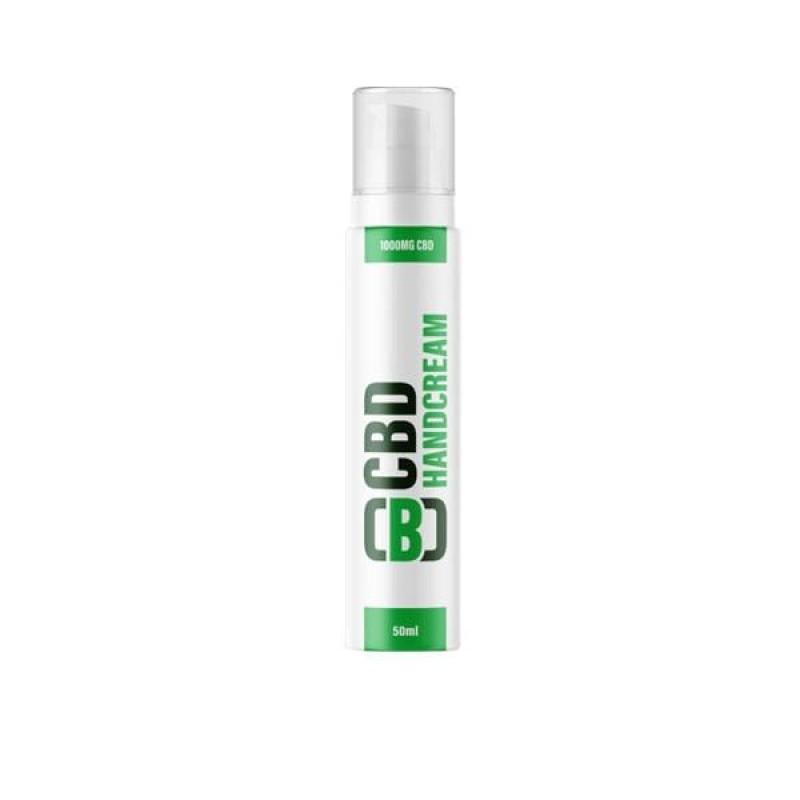 CBD Asylum Hand Cream 1000mg CBD 50ml