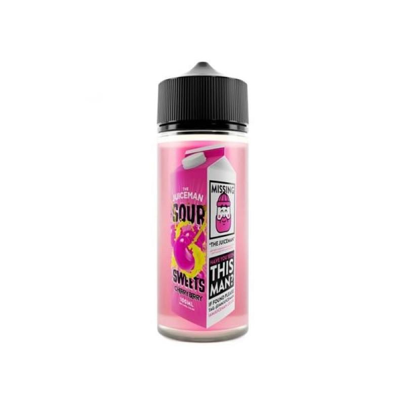 The Juiceman Sour 100ml Shorfill 0mg (70VG/30PG)